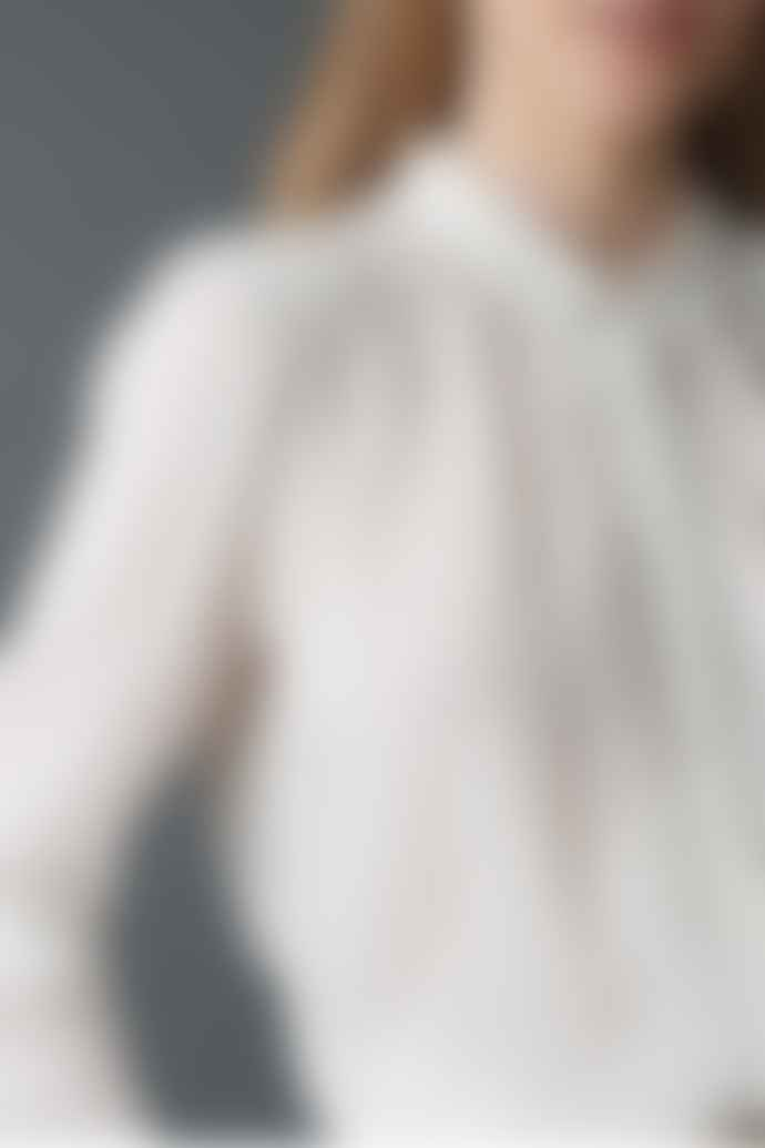 Indi & Cold Plain Tuck Front Shirt