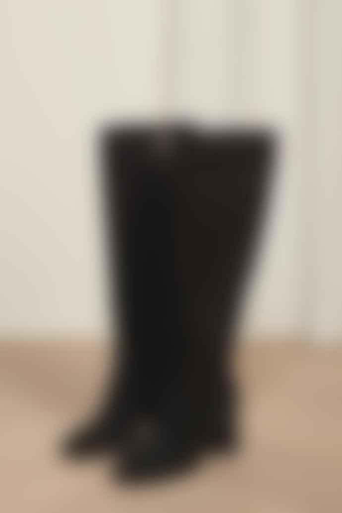 Fabienne Chapot Selene High Boot Black Suede