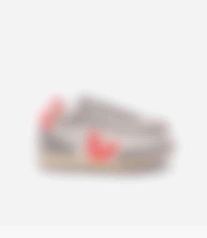 Veja RIO BRANCO Hexamesh Gravel Shoes Orange Grey