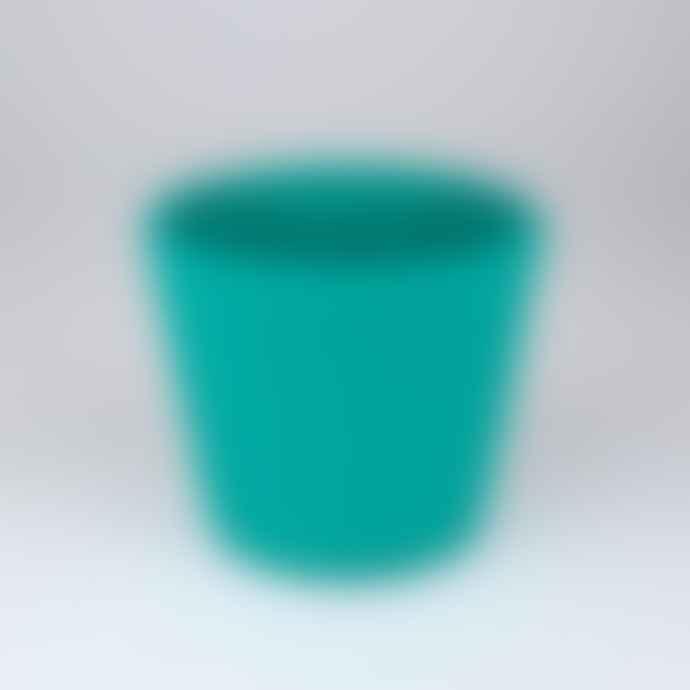 Serax Hand Painted Stoneware Plant Pot Small Azure