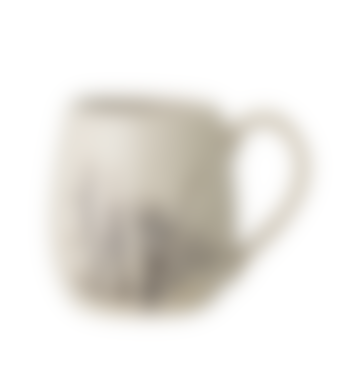 Bloomingville Large Natural Coloured Bea Mug