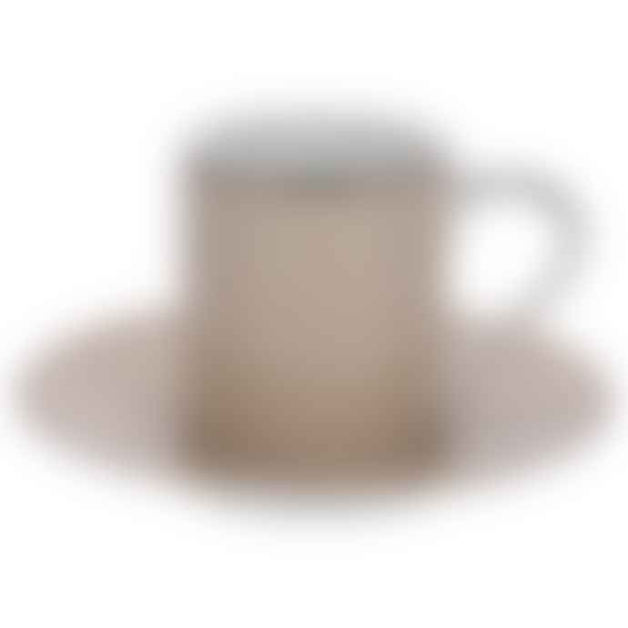 Cote Table Set of 6 Beige Coffee Cup