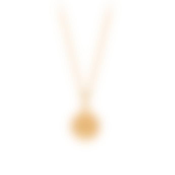 Pernille Corydon Sun Necklace Gold