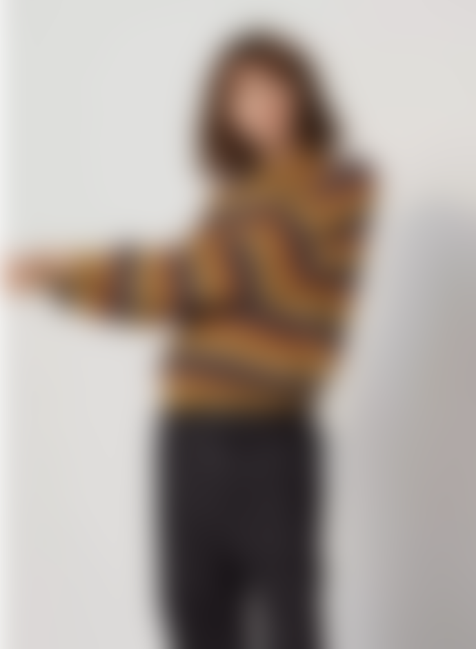 Le Mont St Michel Santina Fancy Stripes Sweater