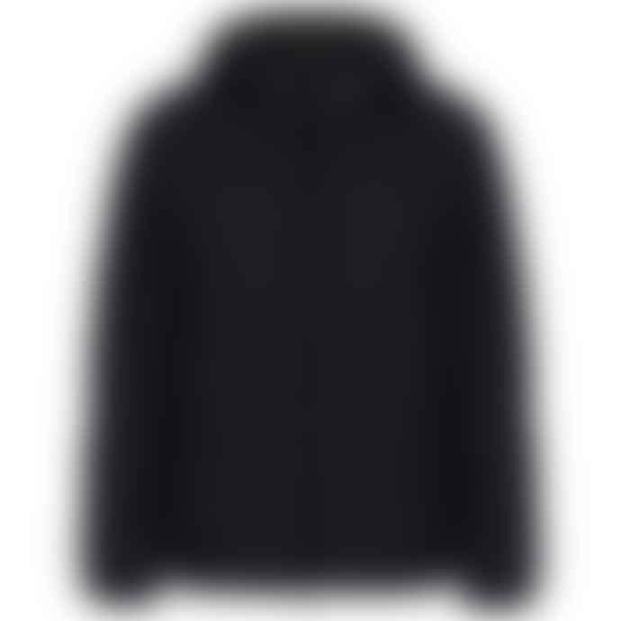 Emporio Armani  Recycled Synthetic Down Hooded Jacket Dark Navy