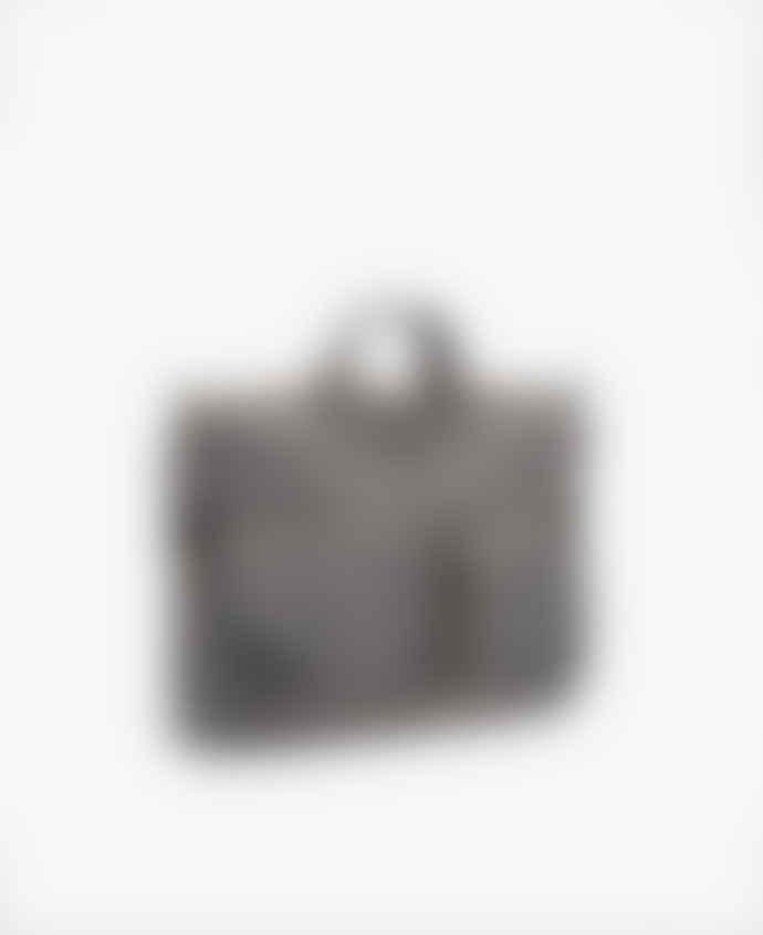 Wouf Grey Bomber Messenger Bag - Wouf