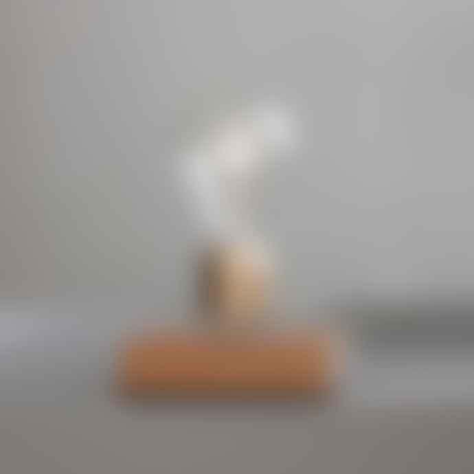 Flyte Royal Gold/Oak Light Bulb