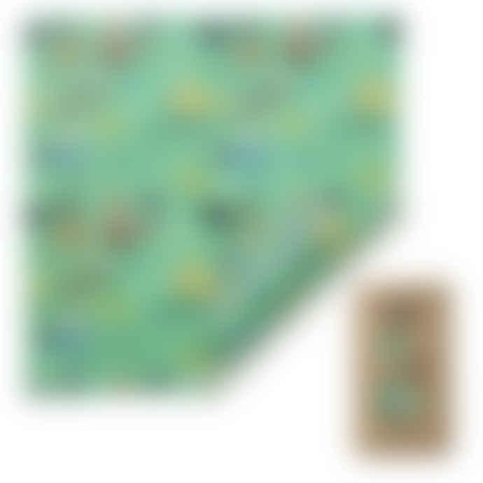 The Beeswax Wrap Co. Beeswax Wrap - Bread Wrap - Sea Design