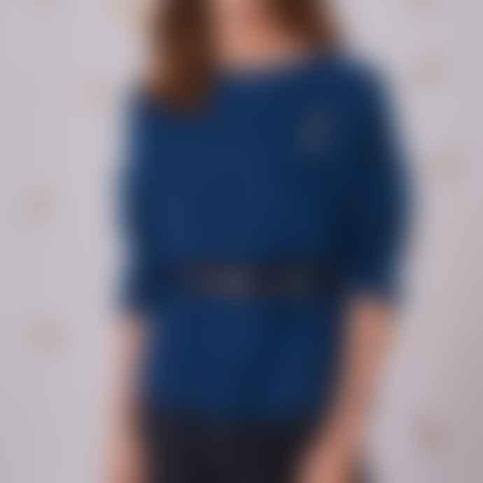 Des Petits Hauts Dolympe Sweater Blue