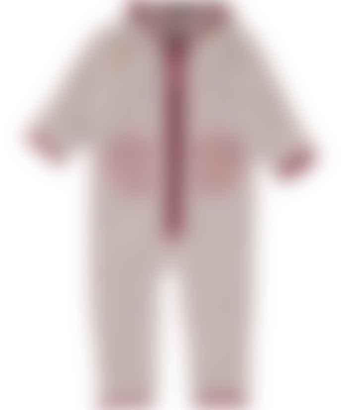 Molo Udo Fleece Suit/Fair Pink