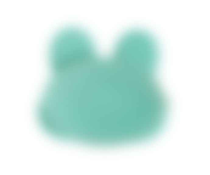 We Might Be Tiny  Mint Bunny Plate with Suction Cup
