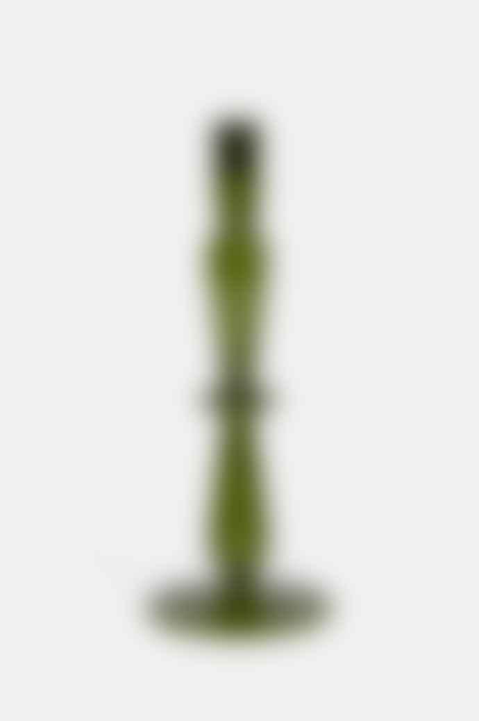 Urban Nature Culture Refined Candle Holder Fir Green M