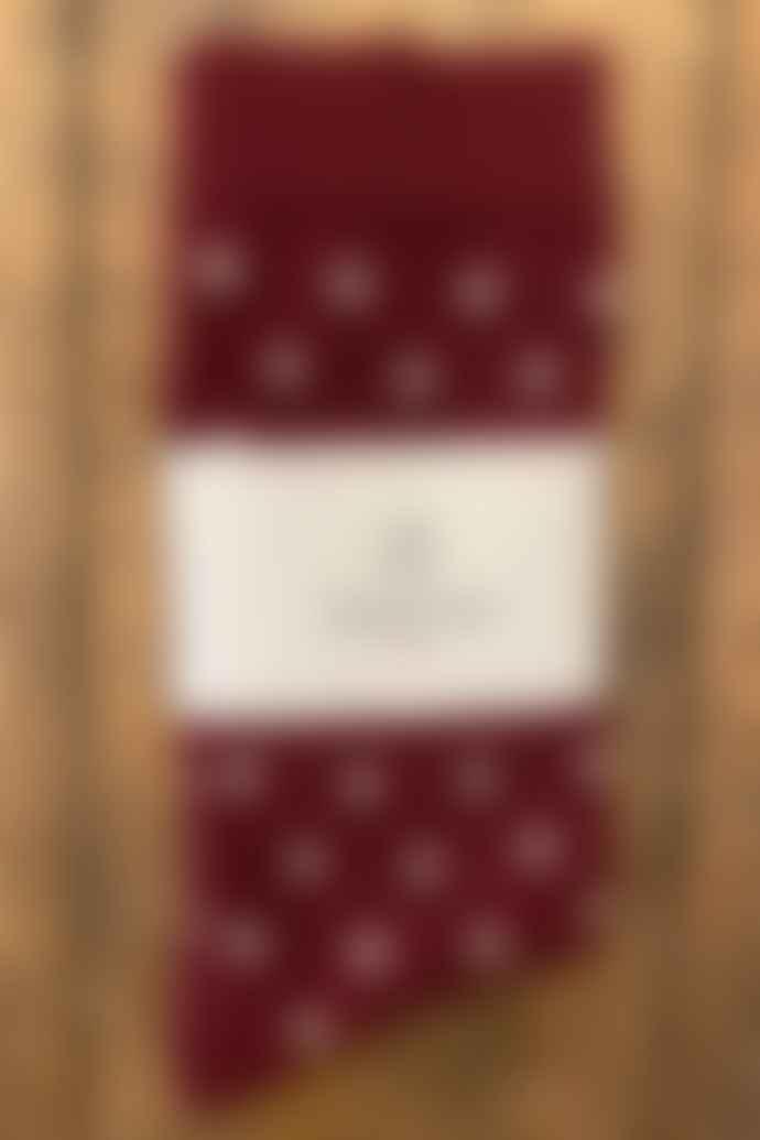 Royalties Polka Chianti Socks