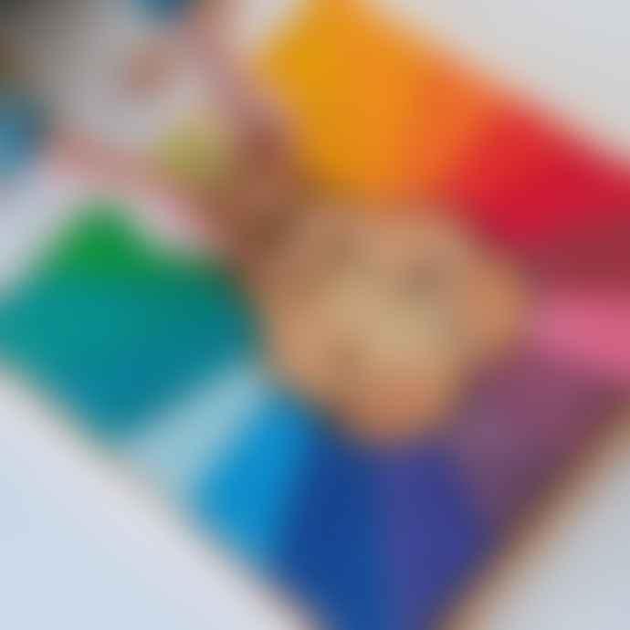 Grimms Large Rainbow Lion Building Set
