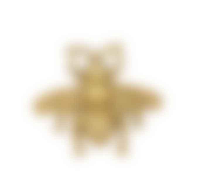 Bramley & White Gold Bee Knob X 4