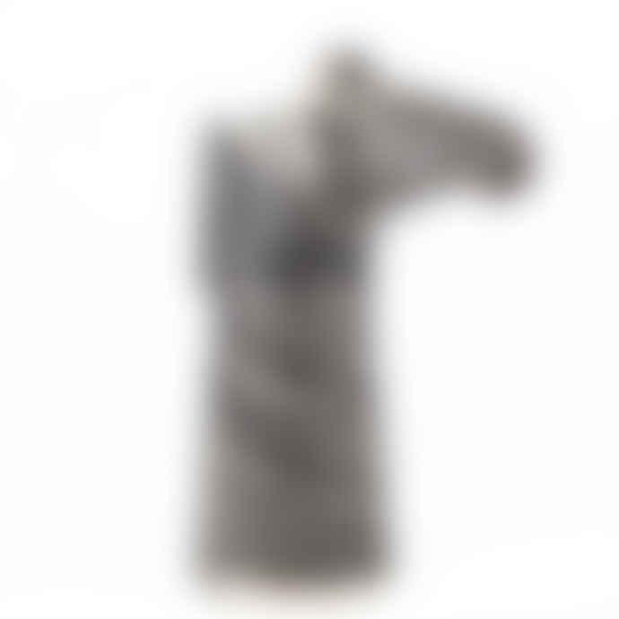 Quail Ceramics Zebra Vase