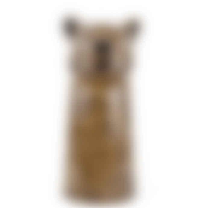 Quail Ceramics Leopard Vase