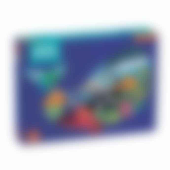 Mudpuppy Ocean Life 300 Piece Shaped Scene Puzzle