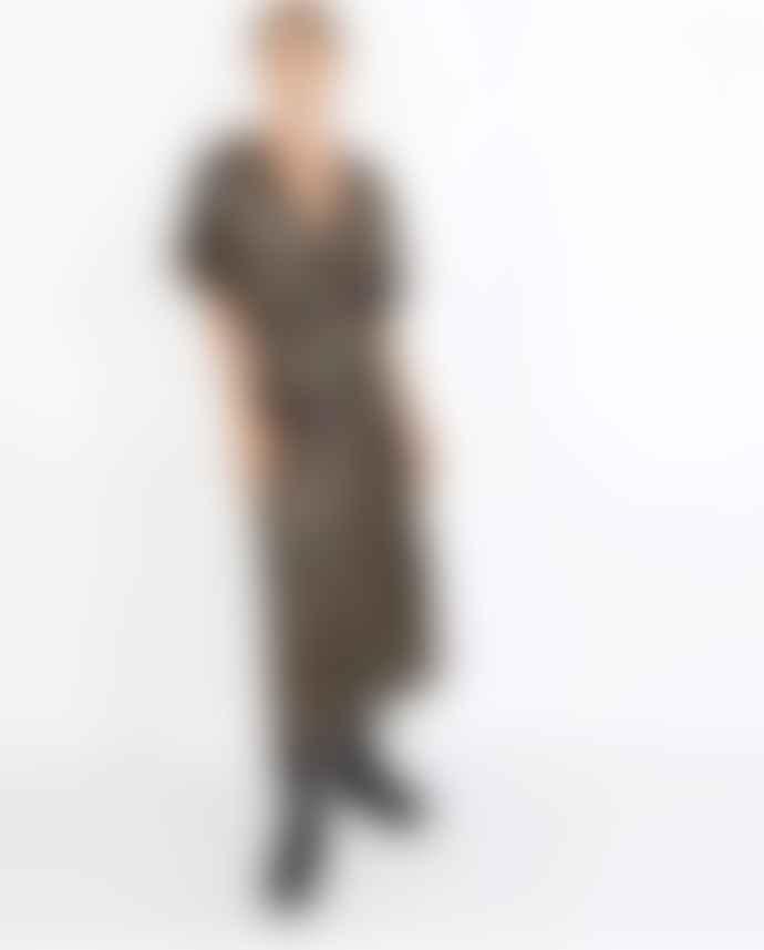 Masscob Astrid Silk Blend Dress Lurex