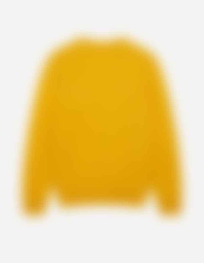 Maison Kitsune Lambswool Sweater Buttercup