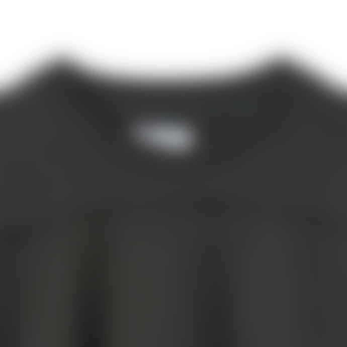Partimento Cut Off Patch Pocket Sweat Shirt in Charcoal