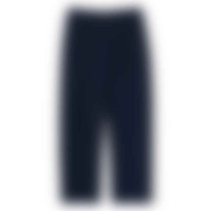 Partimento Comfort Wide Tapered Pants in Navy