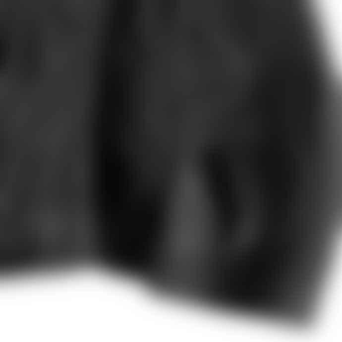 Partimento Vegan Leather Field Jacket in Black