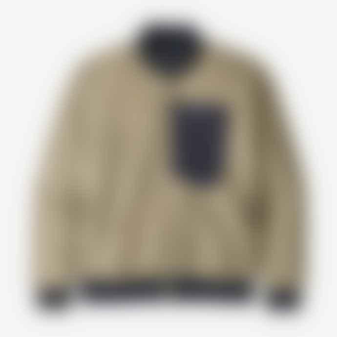 Patagonia Men's Retro-X Fleece Bomber Jacket-Pelican (PLCN)