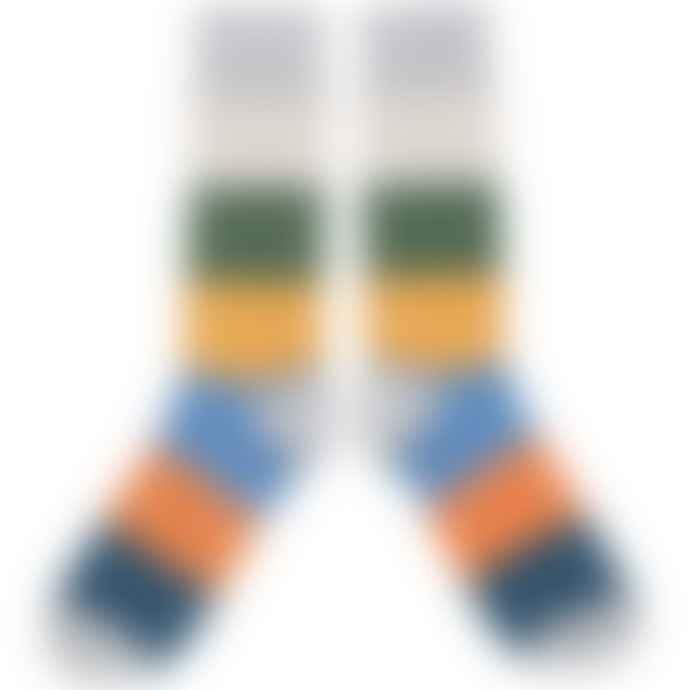 Catherine Tough Men's Cotton Colour Block Socks
