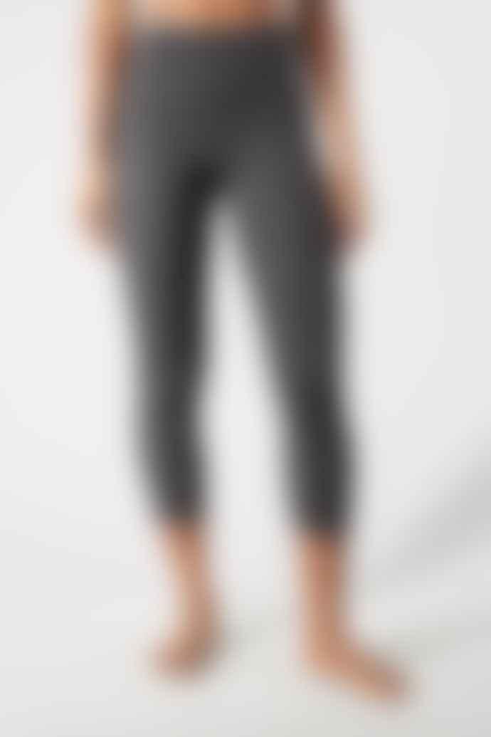 Girlfriend Collective Black High Rise 7/8 Leggings