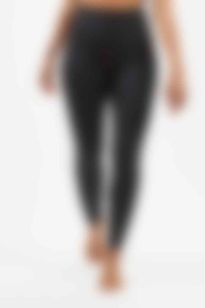Girlfriend Collective Black High Rise Long Leggings