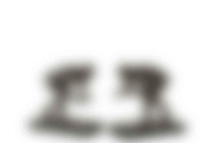 J-Line Set of 2 Poly Black Bookend Wrestlers