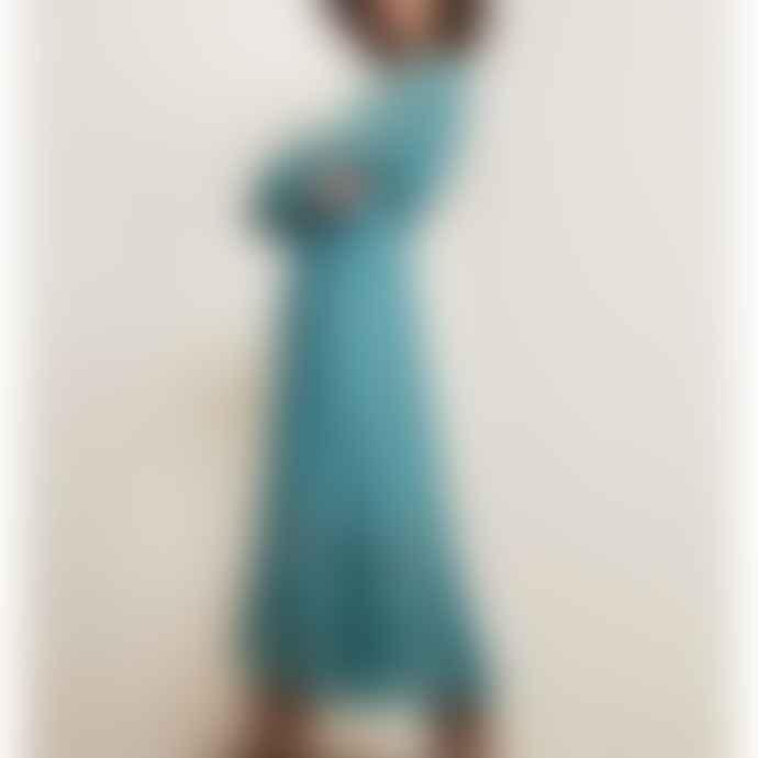 Fabienne Chapot Coco Isa Dress Dusty Blue
