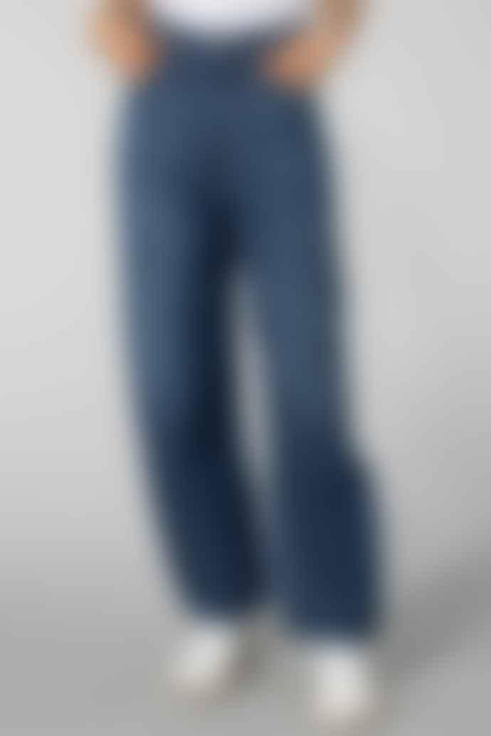 Kings of Indigo Gleen Indigo Marble Leila Jeans