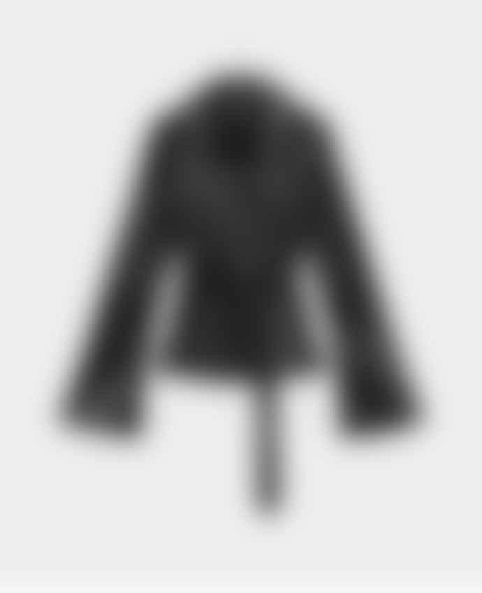 Daily Paper Black Croco Women Jalat Jacket