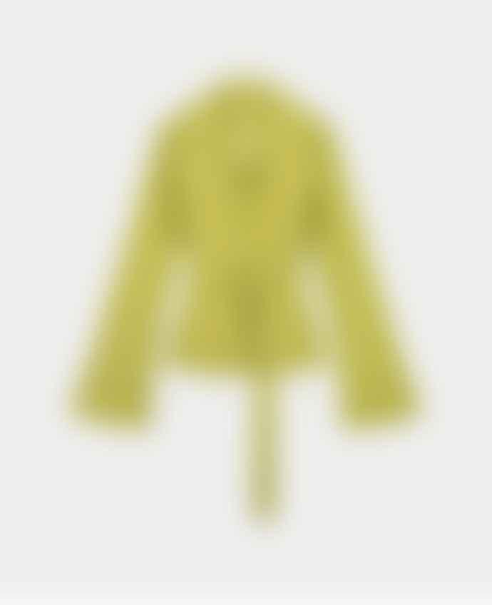Daily Paper Green Croco Women Jalat Jacket