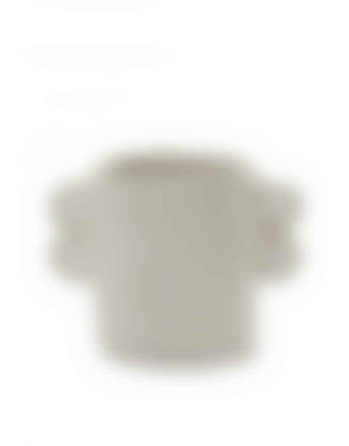 Serax Pot Marie Papier Mache Beige D18 H18