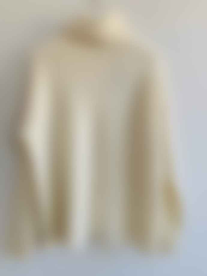 Transit 13480 Virgin Wool Pullover Cream