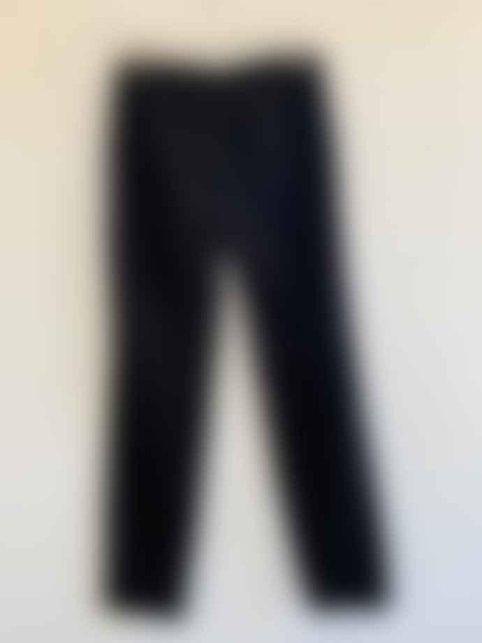Transit I 182 Bushed Cotton Trousers Black
