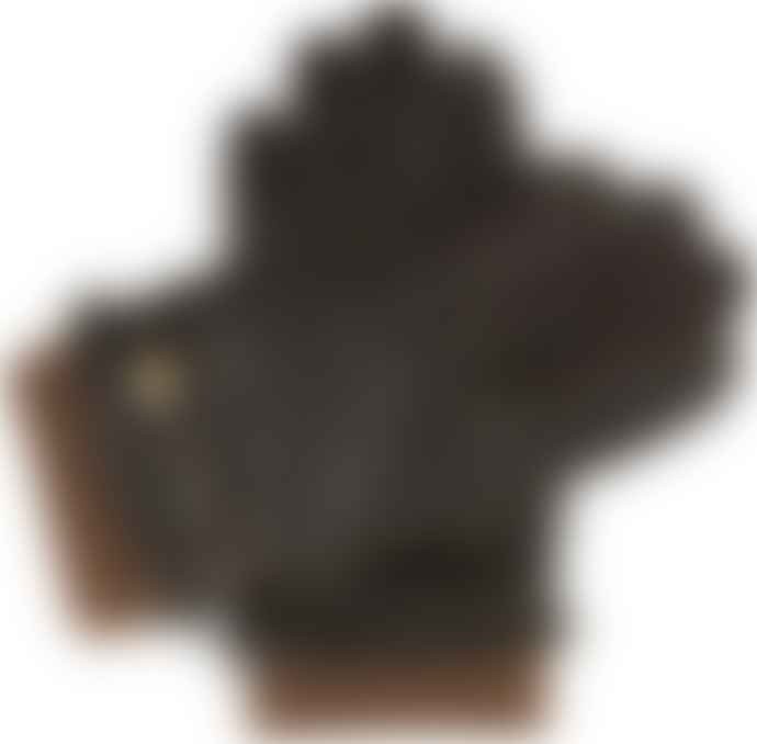Dents  Brown Warm Lined Leather Gloves