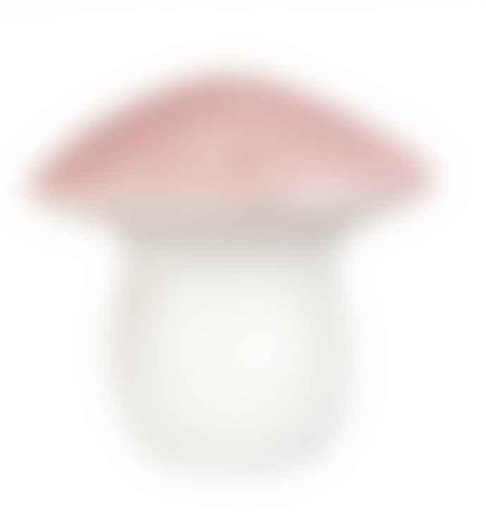 Egmont Toys Large Vintage Pink Mushroom Lamp