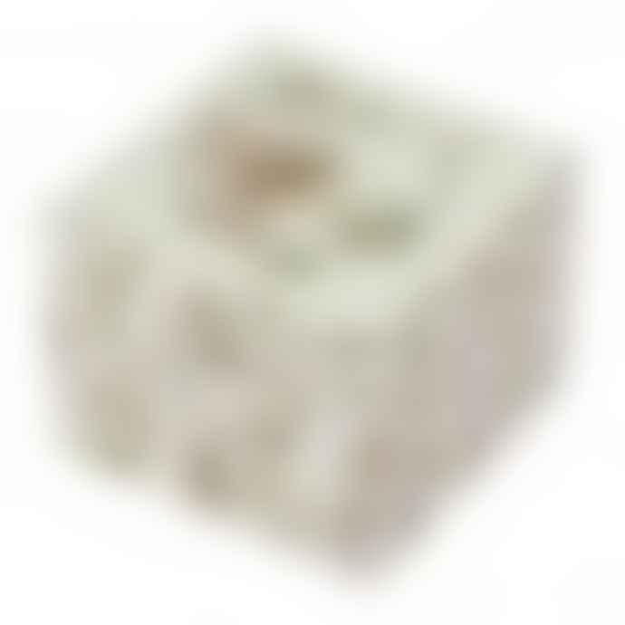 Trousselier Cube Flower Fairies Music Box