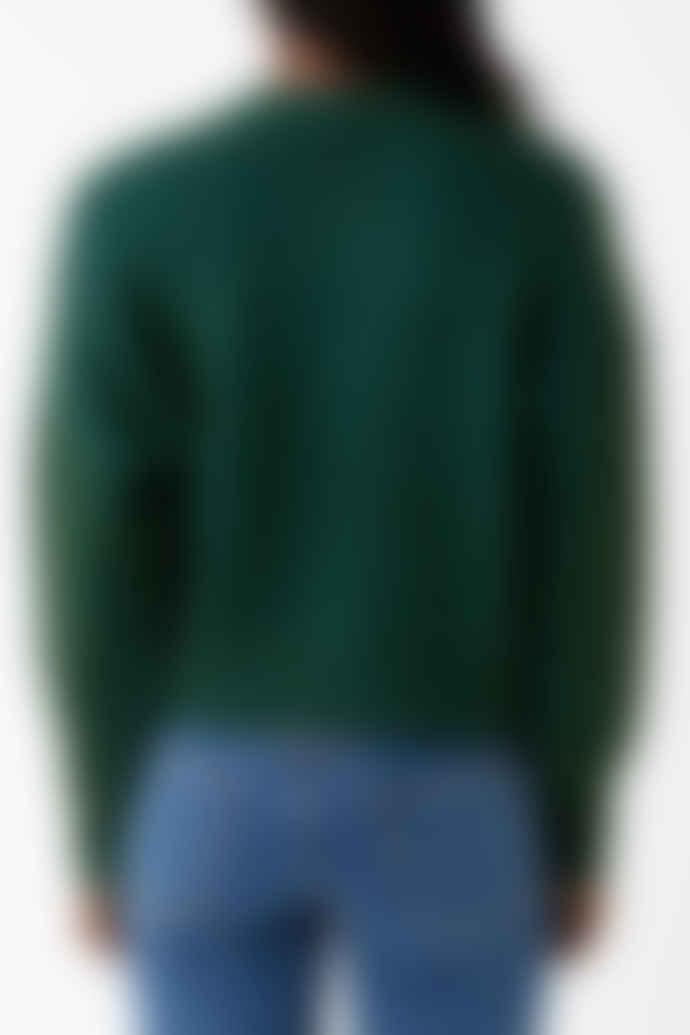 Thinking Mu Green Kilya Cardigan