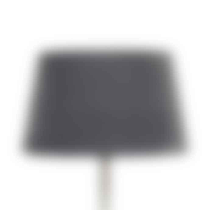 Olsson & Jensen Dark Grey Velvet Lampshade Medium