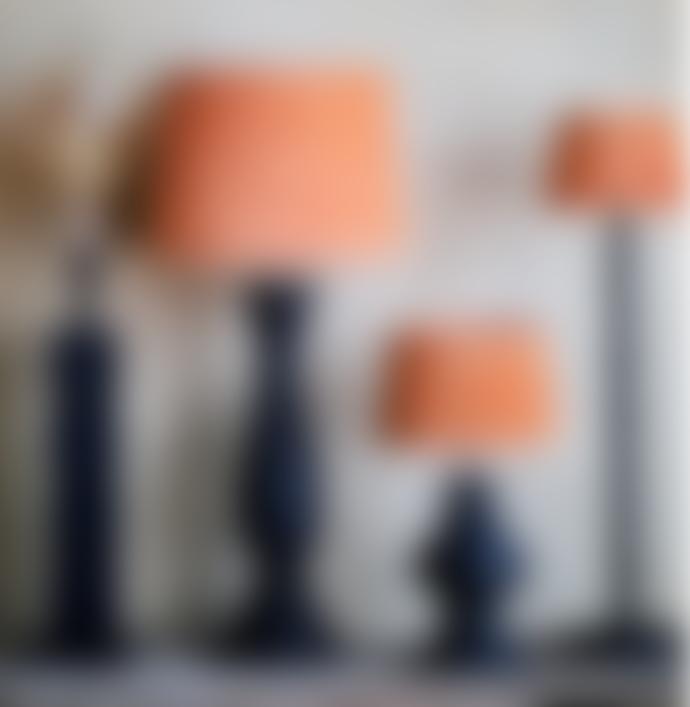 Olsson & Jensen Orange Velvet Lampshade Mini