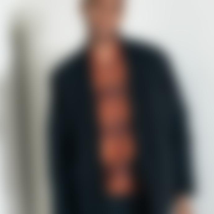 Arnold & Co Universal Works Zip Waistcoat Orange