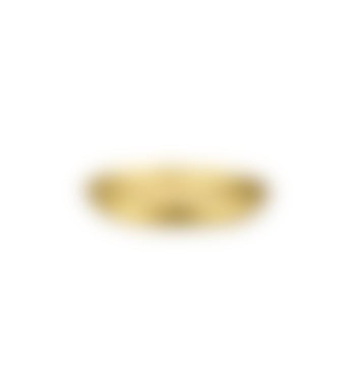 Nkuku Large Jahi Candle Holder Antique Brass