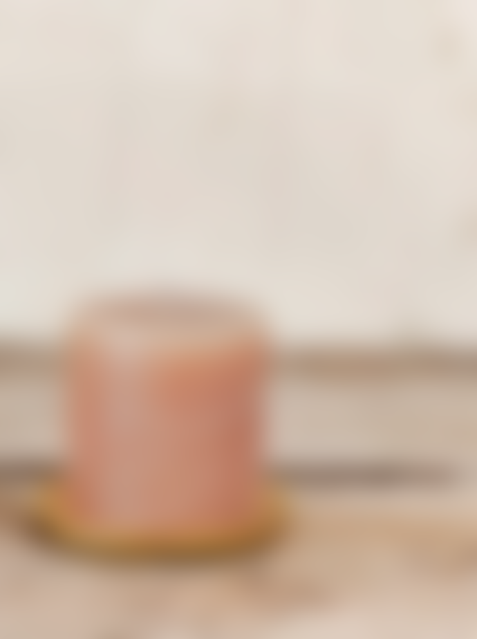 Nkuku Small Jahi Candle Holder Antique Brass