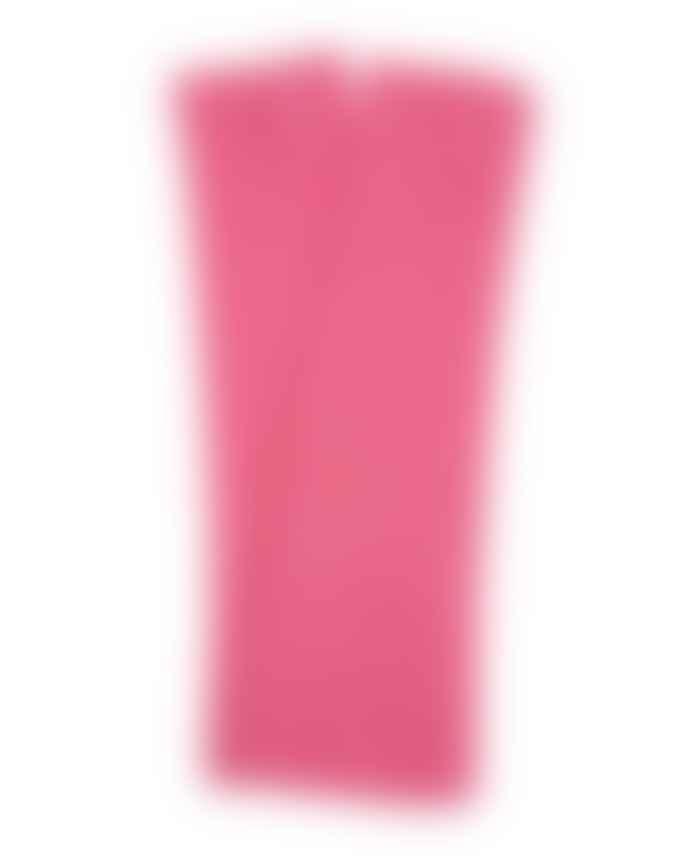 Absolut Cashmere Cashmere Long Gloves Denim Or Pink