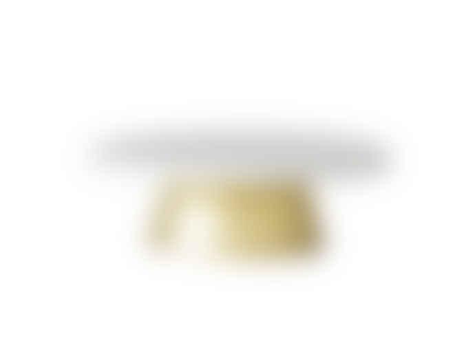 Bloomingville White Marble Cake Tray